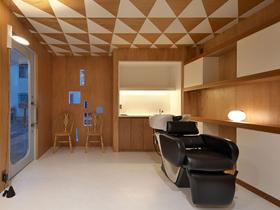 大阪府箕面市牧落にある美容室のHair Clinic gnomeの設計デザインはイレブンナインがデザインいたしました。